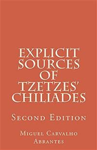 Cover Explicit Sources of Tzetzes' Chiliades