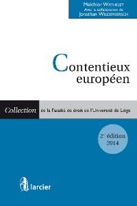 Cover Contentieux européen (2 volumes)