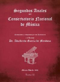 Cover Segundos Anales Del Conservatorio Nacional De Música