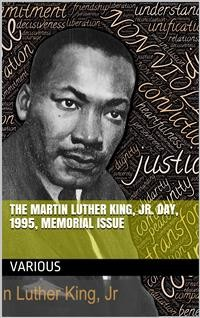 Cover The Martin Luther King, Jr. Day, 1995, Memorial Issue