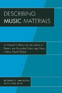 Cover Describing Music Materials
