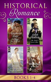 Cover Historical Romance Books 1 - 4: The Harlot and the Sheikh (Hot Arabian Nights) / The Duke's Secret Heir / Miss Bradshaw's Bought Betrothal / Sold to the Viking Warrior