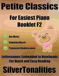 Cover Petite Classics for Easiest Piano Booklet F2