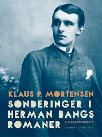 Cover Sonderinger i Herman Bangs romaner