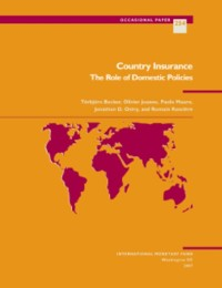 Cover Country Insurance: The Role of Domestic Policies