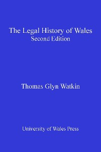 Cover The Legal History of Wales