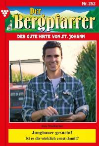 Cover Der Bergpfarrer 252 – Heimatroman