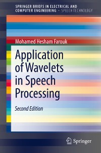 Cover Application of Wavelets in Speech Processing
