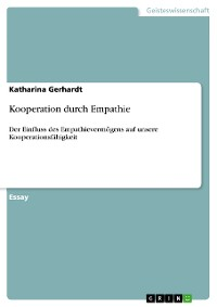 Cover Kooperation durch Empathie