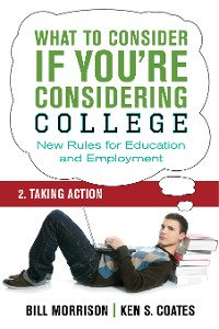 Cover What To Consider if You're Considering College — Taking Action