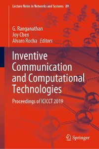 Cover Inventive Communication and Computational Technologies