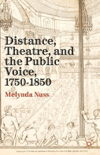 Cover Distance, Theatre, and the Public Voice, 1750–1850