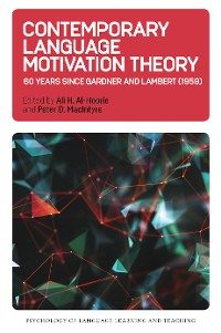 Cover Contemporary Language Motivation Theory