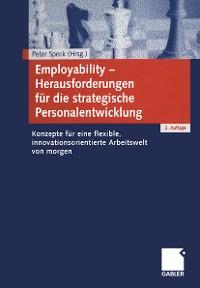 Cover Employability — Herausforderungen für die strategische Personalentwicklung