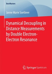 Cover Dynamical Decoupling in Distance Measurements by Double Electron-Electron Resonance