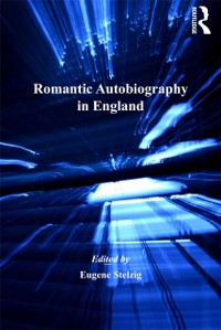 Cover Romantic Autobiography in England
