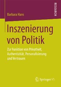 Cover Inszenierung von Politik