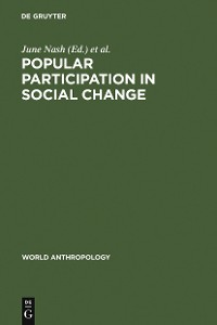 Cover Popular Participation in Social Change