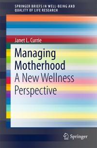 Cover Managing Motherhood