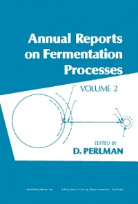 Cover Annual Reports on Fermentation Processes