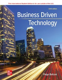 Cover ISE eBook for Business Driven Technology