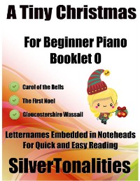 Cover A Tiny Christmas for Beginner Piano Booklet O