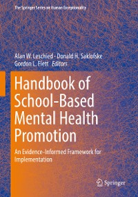 Cover Handbook of School-Based Mental Health Promotion