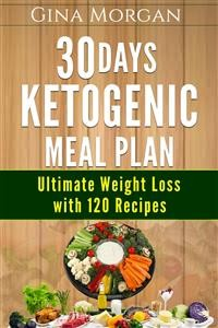 Cover 30 Days Ketogenic Meal Plan -Ultimate Weight Loss With 120 Recipes