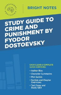Cover Study Guide to Crime and Punishment by Fyodor Dostoyevsky