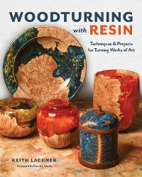 Cover Woodturning with Resin