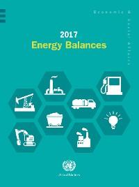 Cover 2017 Energy Balances