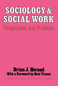 Cover Sociology and Social Work