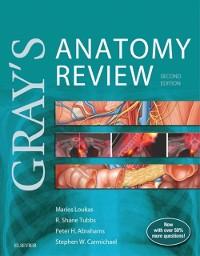 Cover Gray's Anatomy Review E-Book