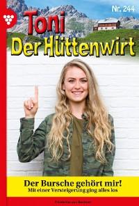 Cover Toni der Hüttenwirt (ab 301) 244 – Heimatroman