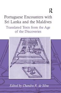 Cover Portuguese Encounters with Sri Lanka and the Maldives