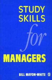 Cover Study Skills for Managers