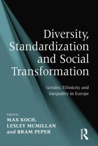 Cover Diversity, Standardization and Social Transformation