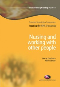Cover Nursing and Working with Other People