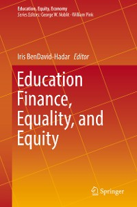 Cover Education Finance, Equality, and Equity