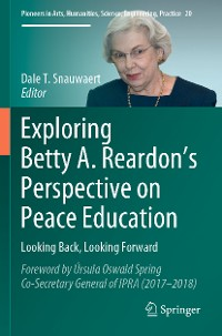 Cover Exploring Betty A. Reardon's Perspective on Peace Education