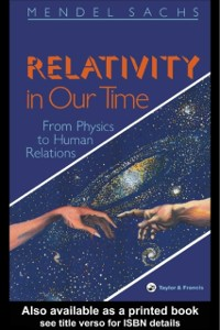 Cover Relativity In Our Time