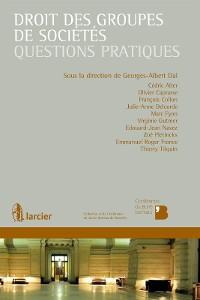 Cover Droit des groupes de sociétés