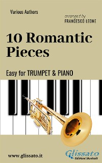 Cover 10 Romantic Pieces - Easy for Trumpet and Piano