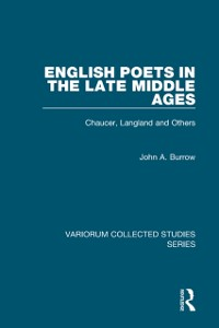 Cover English Poets in the Late Middle Ages