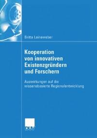 Cover Kooperation von innovativen Existenzgrundern und Forschern