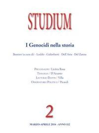 Cover Studium - I Genocidi nella storia