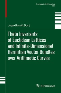Cover Theta Invariants of Euclidean Lattices and Infinite-Dimensional Hermitian Vector Bundles over Arithmetic Curves