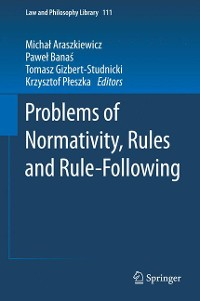 Cover Problems of Normativity, Rules and Rule-Following