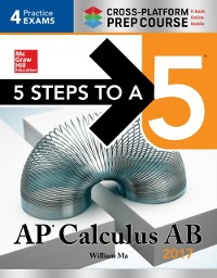 Cover 5 Steps to a 5: AP Calculus AB 2017 Cross-Platform Edition