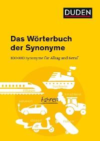 Cover Duden - Das Wörterbuch der Synonyme